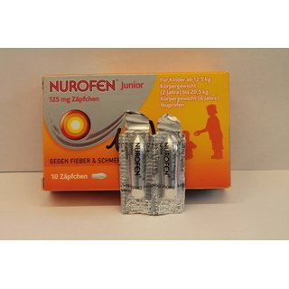 Nurofen Supp. 125 mg